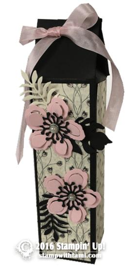 stampin up timeless elegance gift box