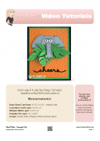 2016-04 Stampin Up Erick the Elephant Card-stampwithtami