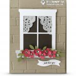 stampin up window box card