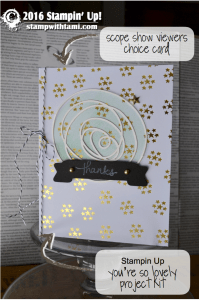 stampin up youre so lovely
