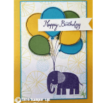 CARD: Retiring Zoo babies and balloons