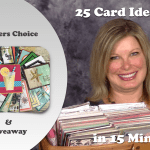 VIDEO: Viewers Choice 25 cards in 15 minutes – pick your favs