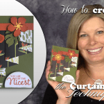 VIDEO: How to make a Curtain Fold Technique Card
