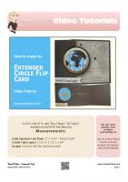 2016-04 Stampin Up Going Global Flip Card-stampwithtami