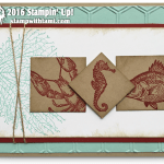 "CARD: Retiring By the Tide ""Sea Life"" card"