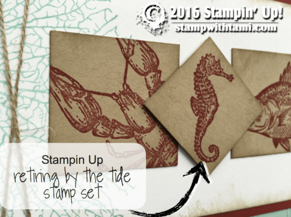 stampin up by the tide stamp set card1g