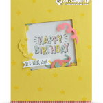 SNEAK PEEK: Confetti Celebration Shaker Card