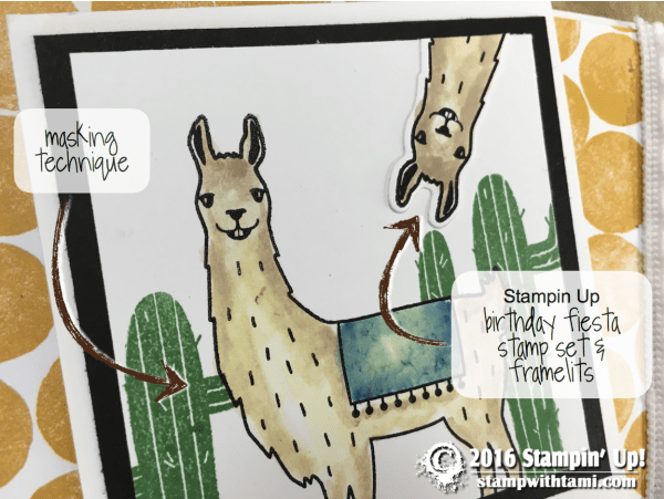 stampin up birthday fiesta part 2