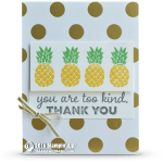 CARD: Pop of Paradise Pineapples Card