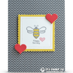 CARD: Happy Bee-day Pun Intended Birthday Card and winner
