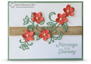 florishing phrases card stampin up