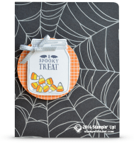 stampin up a spooky treat