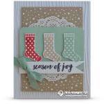 CARD: Season of Joy Stockings from the Hang your Stocking