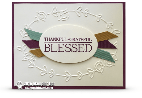 stampin up paisleys and posies card