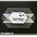 CARD: Trick or Treat Spooky Web Fun for Halloween