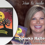 BLOG HOP & GIVEAWAY: How to make a spooky fun Halloween card
