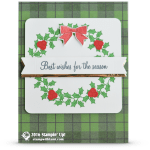 CARD: Best Wishes for the Season Holiday Card