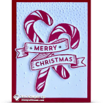 CARD: Candy Cane Card from Banners for Christmas