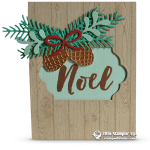 CARD: Beautiful Noel from the Christmas Pines