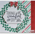 CARD: Tidings of Comfort and Joy Christmas card