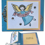 CARD: Wonder of Christmas Z-Fold Angel Card
