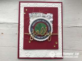 Holly Jolly Layers Stamp Set