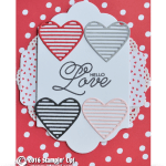 CARD: Hello Love Valentine's Day Card from Sealed with Love