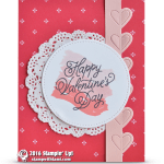 BLOG HOP: Sealed with Love Valentine's Day Card