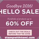 SALE: up to 60% OFF Year End Close Outs & Retiring Lists Revealed