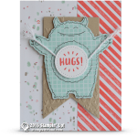 CARD: Monster Hugs from the Yummy in My Tummy set