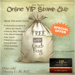 FREE GRAB BAG: Join my Online Stamp Club – ends June 30