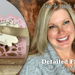 VIDEO: How to make a Detailed Floral Treat Holder for Valentine's Day
