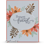 CARD: A friend like you from the Avant Garden Sale-a-bration set