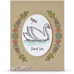 CARD: Thank You card from Swan Lake
