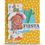 CARD: Birthday Fiesta Tie Dyed T-Shirt Card