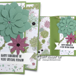 CARD: Succulent Garden WOW card with a Fancy Fold – 1 Day left for Sale-a-bration