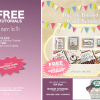 FREE TUTORIALS: Big on Birthdays Card Set & Eastern Palace Gift Box Tutorials Code YCCSKKFN