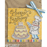 CARD: Happy Birthday Delivery Chef Card – Part 1 of 2