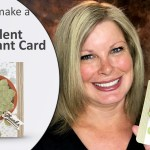 ONLINE CLASS: Succulent Garden WOW card -The Potted Plant