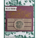 SNEAK PEEK: Hello Friend from the Wood Words Set