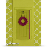 CARD: At Home With You Open Door Card and video