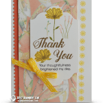 CARD: Gorgeous Thank You from the Daisy Delight bundle