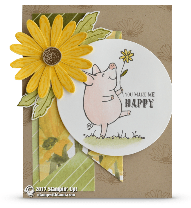 Stampin Up This Little Piggy Card