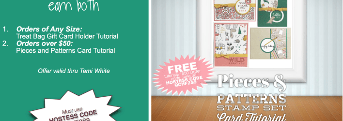 FREE TUTORIALS: Pieces and Patterns Cards & Starbucks Gift Card Tutorials Code 2QCHF2S9