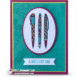 CARD: A Note for You Card from the Crafting Forever Stamps