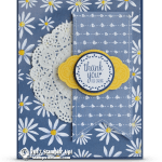 CARD: When Daisies Meet the Label Me Pretty Set for a Thank You Card