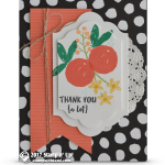 CARD: Thank You A Lot from the Orange Blossom Stamps