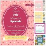 SPECIALS: Tami's July Specials Part II: July 16 – 31