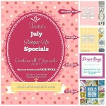 SPECIALS: Tami's July Specials Part II: July 16 – 31