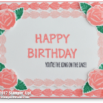 CARD: Is it a sheet cake, or a card? Happy birthday fun in frosting